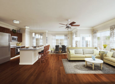 Independent Living Apartment Interior